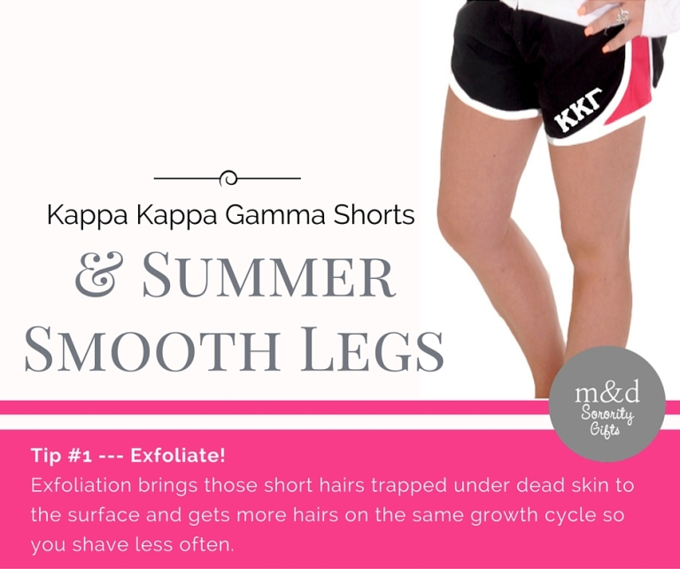 Kappa Kappa Gamma Shorts for Summer Tip 1