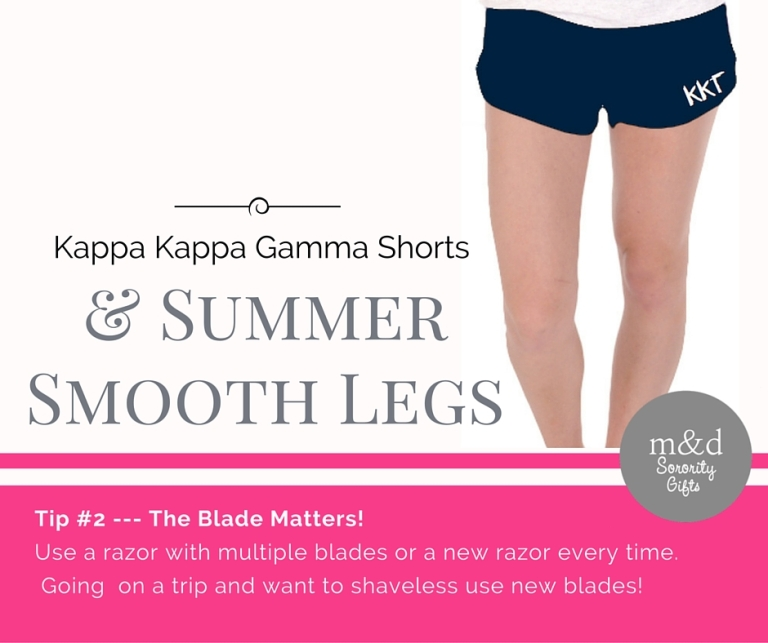 Kappa Kappa Gamma Shorts for Summer Tip 2