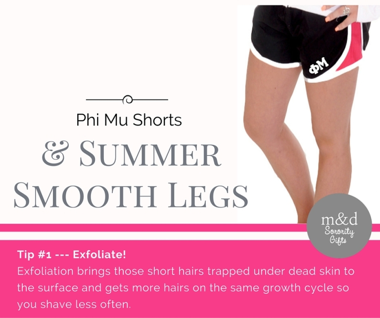 Phi Mu Shorts for Summer Tip 1