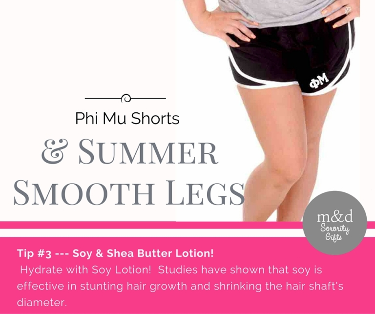 Phi MuShorts for Summer Tip 3