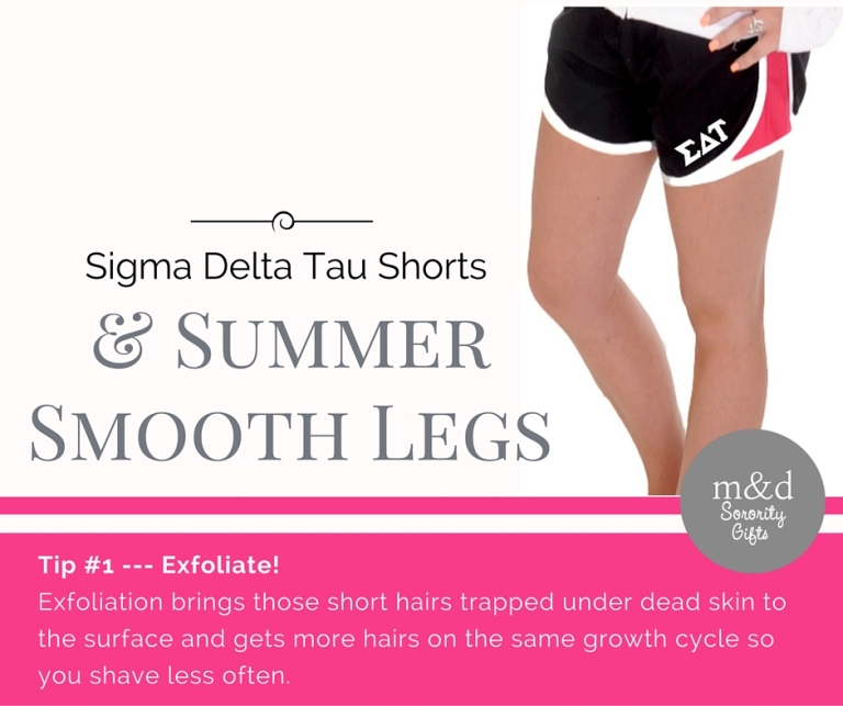 Sigma Delta Tau Shorts for Summer Tip 1