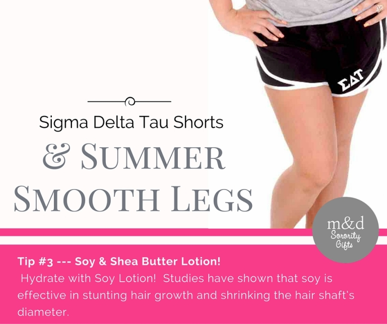 Sigma Delta TauShorts for Summer Tip 3