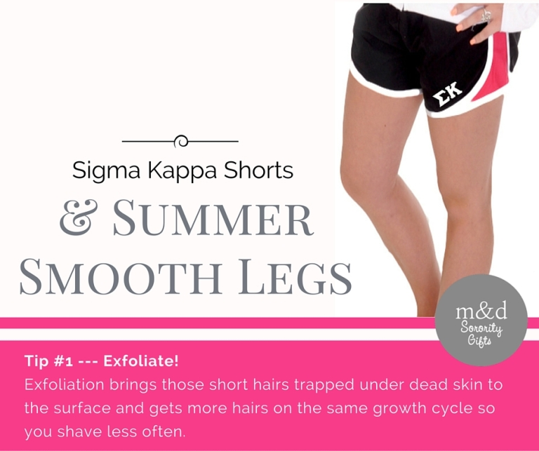 Sigma Kappa Shorts for Summer Tip 1
