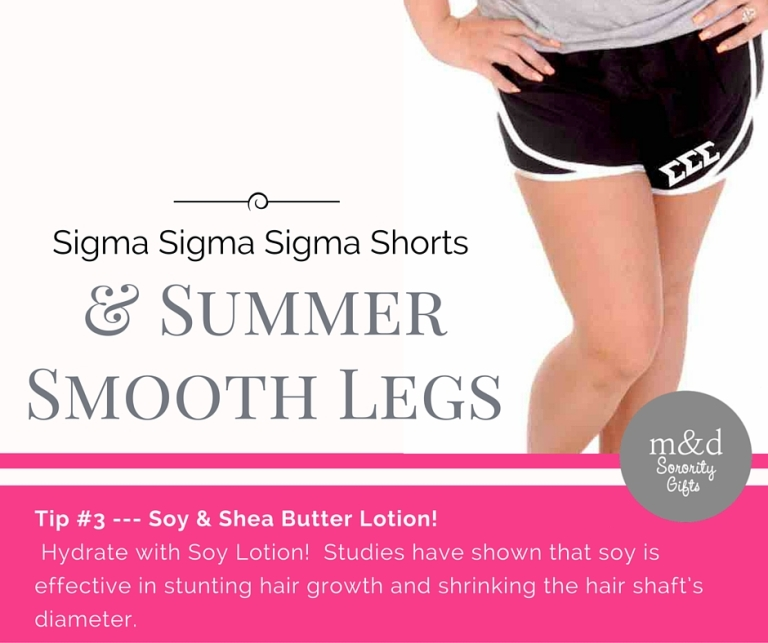 Sigma Sigma SigmaShorts for Summer Tip 3