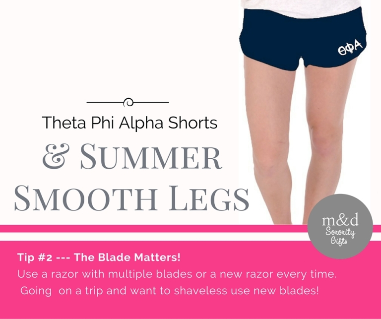 Theta Phi Alpha Shorts for Summer Tip 2